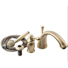 Смеситель на борт ванны Migliore Maya 8950 бронза