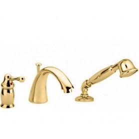 Смеситель на борт ванны Migliore Maya 8950 золото