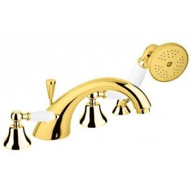 Смеситель на борт ванны Cezares First BVD-03 цвет золото