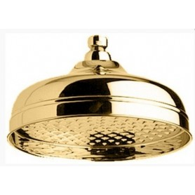 Верхний душ Migliore 35.620 (без антикальция, диаметр 20 см.) золото ➦
