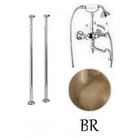Смеситель для ванны напольный Cezares First VDP2-02 цвет бронза