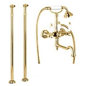 Смеситель для ванны напольный Cezares First VDP2-03 цвет золото
