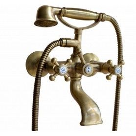 Смеситель для ванны Migliore Lady 902 бронза