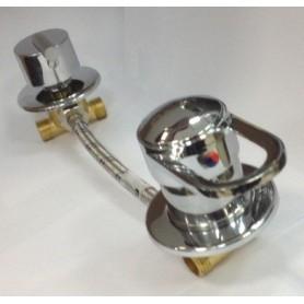 Универсальный смеситель для душевой кабины на три положения GH/SM3