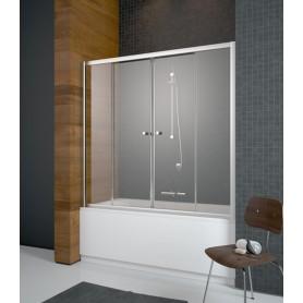 Шторка для ванной Radaway Vesta DWD 1800/1500 стекло прозрачное