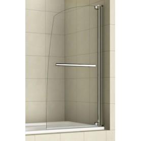 Шторка для ванной Welt Wasser 100K1-80, 800/1400 стекло прозрачное, хром ➦