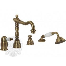 Смеситель на борт ванны Migliore Oxford 6355 бронза