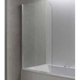 Шторка на ванну Kolpa San Terra 80х145 см TP80, стекло прозрачное