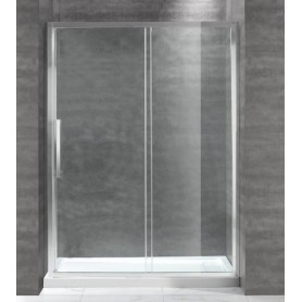 Душевая дверь Cezares Lux-Soft BF-1 140 см., стекло прозрачное