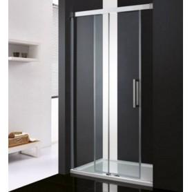 Душевая дверь Cezares Premium Soft BF-1 140 см., стекло прозрачное ➦ Vanna-retro.ru
