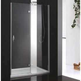 Душевая дверь Cezares Bergamo B-12 120 см., стекло прозрачное ➦ Vanna-retro.ru