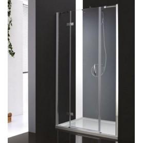 Душевая дверь Cezares Bergamo B-13 140 см., стекло матовое