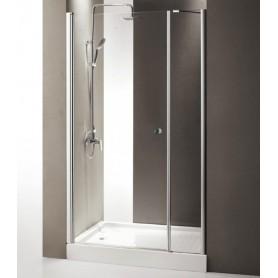 Душевая дверь Cezares Triumph B-11 135 см., стекло прозрачное
