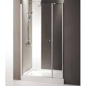 Душевая дверь Cezares Triumph B-11 145 см., стекло прозрачное