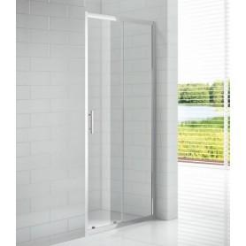Душевая дверь Cezares Eco BF-1 140 см., стекло прозрачное ➦ Vanna-retro.ru