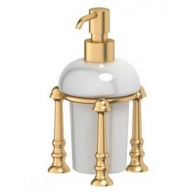 Дозатор для жидкого мыла 3SC Stilmar, STI 229, цвет: золото ➦ Vanna-retro.ru