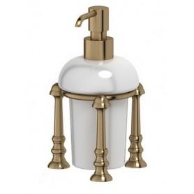 Дозатор для жидкого мыла 3SC Stilmar, STI 529, цвет: бронза