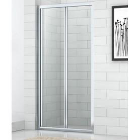 Душевая дверь Cezares Eco BS 80 см., стекло прозрачное ➦ Vanna-retro.ru