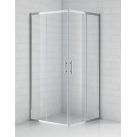 Душевой уголок Cezares Eco-A-2 90х90, стекло прозрачное