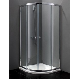 Душевой уголок Cezares Anima-R-2 90х90, стекло прозрачное
