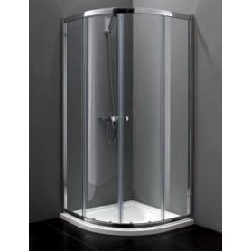 Душевой уголок Cezares Anima-R-2 100х100, стекло прозрачное