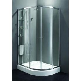 Душевой уголок Cezares Anima-RH-2 L/R 120х90, стекло прозрачное