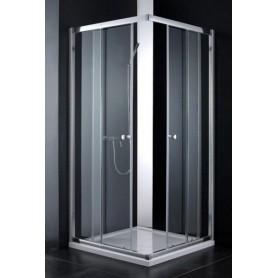 Душевой уголок Cezares Anima-A-2 90х90, стекло прозрачное