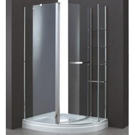 Душевой уголок Cezares Elena-RH-1 L/R 120х90, стекло прозрачное