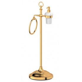 Стойка для ванной 3SC Stilmar, STI 232, цвет: золото ➦ Vanna-retro.ru