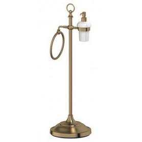 Стойка для ванной 3SC Stilmar, STI 532, цвет: бронза ➦ Vanna-retro.ru
