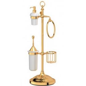 Стойка для ванной 3SC Stilmar, STI 235, цвет: золото ➦ Vanna-retro.ru