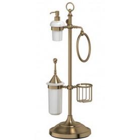 Стойка для ванной 3SC Stilmar, STI 535, цвет: бронза