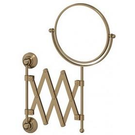 Зеркало косметическое двустороннее Х2 3SC Stilmar, STI 520, цвет: бронза ➦