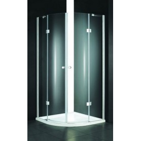 Душевой уголок Cezares Verona-R-2, 90х90 см., стекло матовое