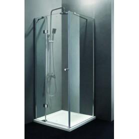 Душевой уголок Cezares Verona-A-1, 100х100 см., стекло прозрачное