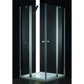 Душевой уголок Cezares Elena-A-22 120х120, стекло прозрачное