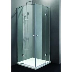 Душевой уголок Cezares Verona-A-2, 100х100 см., стекло прозрачное