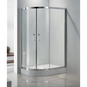 Душевой уголок Cezares Porta-RH-2, 120х90 см., стекло прозрачное