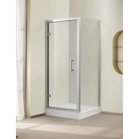 Душевой уголок Cezares Porta-A-11, 80х80 см., стекло прозрачное