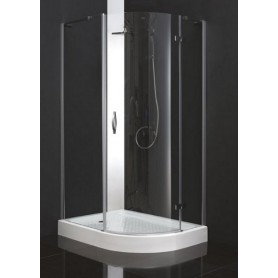 Душевой уголок Cezares Bergamo-RH-1 L/R 120х100, стекло матовое