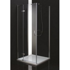 Душевой уголок Cezares Bergamo-A-1 L/R 90х90, стекло прозрачное
