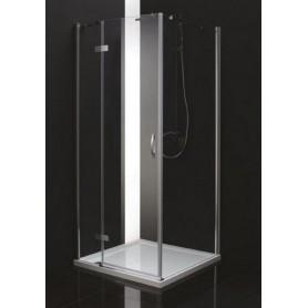Душевой уголок Cezares Bergamo-A-1 L/R 100х100, стекло матвое