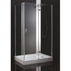 Душевой уголок Cezares Bergamo-AH-1 L/R 100х90, стекло прозрачное