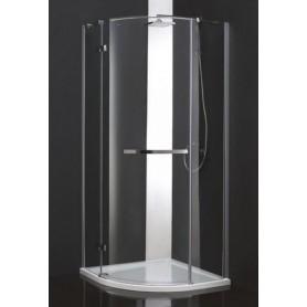 Душевой уголок Cezares Bergamo-RH-1 L/R Arco 120х100, стекло матовое