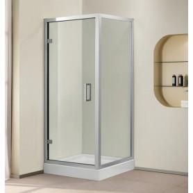 Душевой уголок Cezares Porta-AH-1, 100х90 см., стекло прозрачное