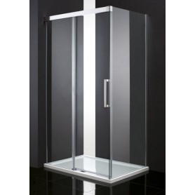 Душевой уголок Cezares Premier Soft 120х100, стекло прозрачное