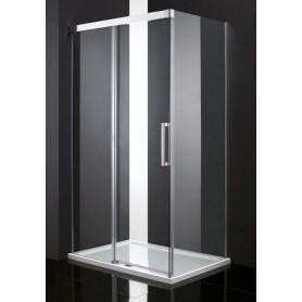 Душевой уголок Cezares Premier Soft 140х80, стекло прозрачное