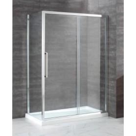 Душевой уголок Cezares Lux Soft 150х100, стекло прозрачное