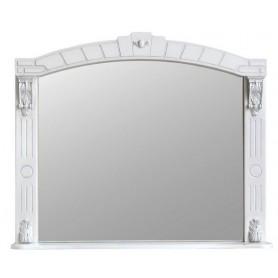 Зеркало Атолл Александрия 100 (слоновая кость / патина серебро)
