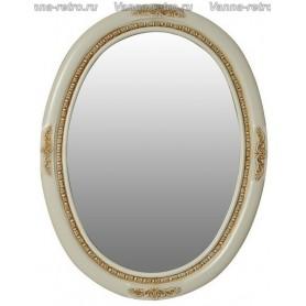 Зеркало Атолл Неаполь (слоновая кость / патина золото)